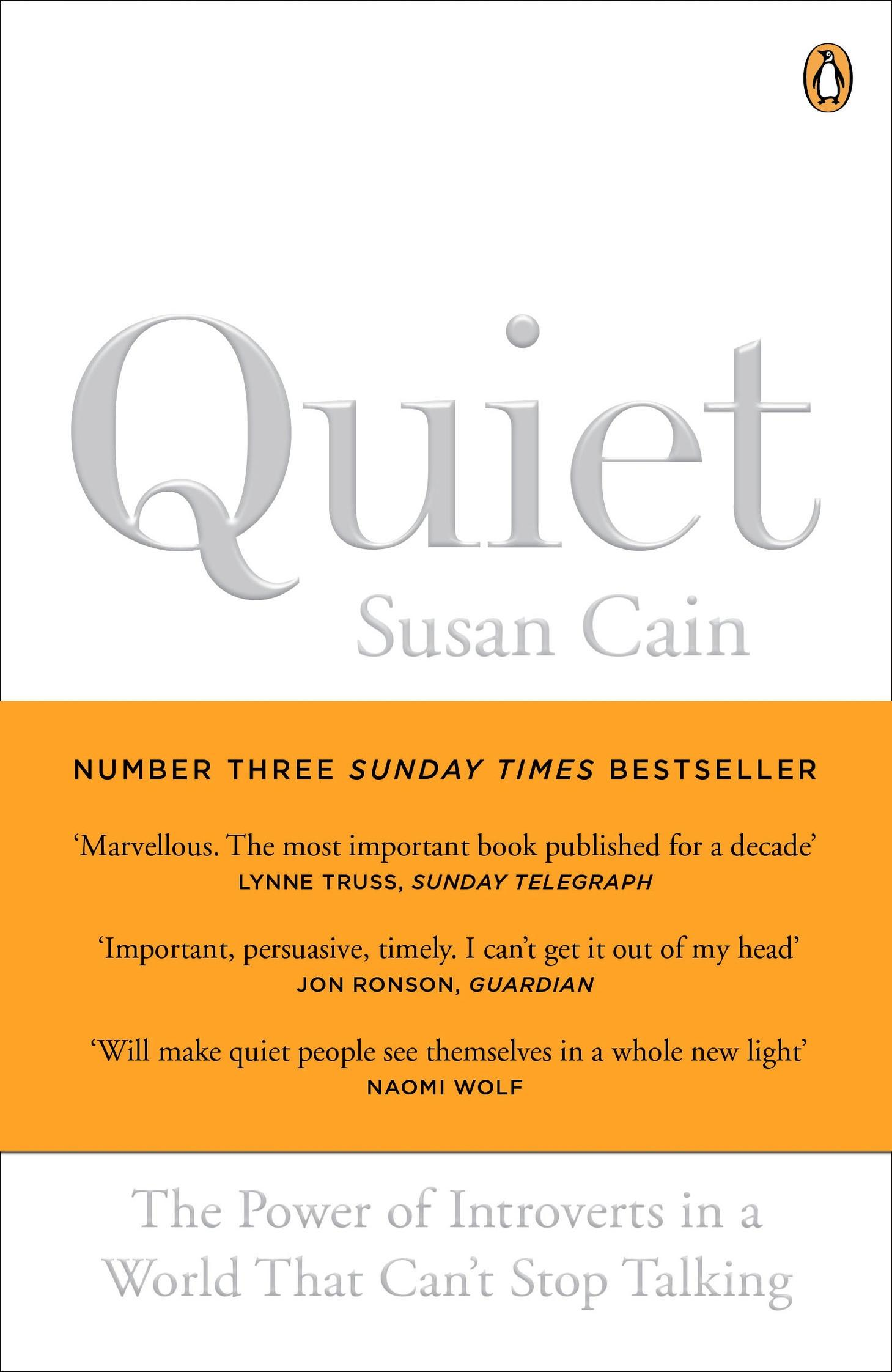 analysis of the power of introverts A self-avowed introvert herself, susan cain is the author of the recently published  book quiet: the power of introverts in a world that can't stop.